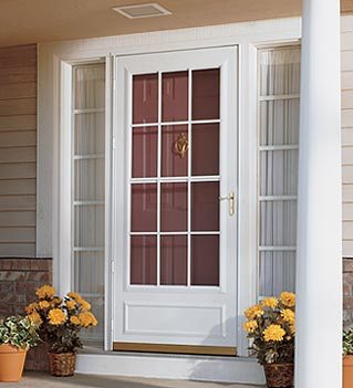 Storm doors for Front door with storm door